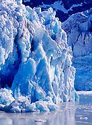 Face of Lamplugh Glacier, John Hopkins Inlet, Glacier Bay National Park, Alaska.