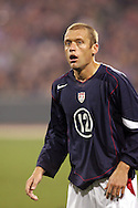 10 February 2006: Jimmy Conrad of the United States. The United States Men's National Team defeated Japan 3-2 at SBC Park in San Francisco, California in an International Friendly soccer match.