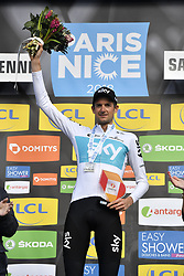 March 7, 2018 - Saint Etienne, France - SAINT-ETIENNE, FRANCE - MARCH 7 : POELS Wout  (NED)  of Team SKY  during stage 4 of the 2018 Paris - Nice cycling race, an individual time trial over 18,4 km from La Fouillouse to Saint-Etienne on March 07, 2018 in Saint-Etienne, France, 07/03/2018 (Credit Image: © Panoramic via ZUMA Press)