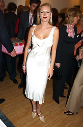 ANOUSKA DE GEORGIOU the at a party attended by HRH The Countess of Wessex to celebrate the 5th birthday of Breast Cancer Haven's - The London Haven, Effie Road, London on 10th February 2005.<br />