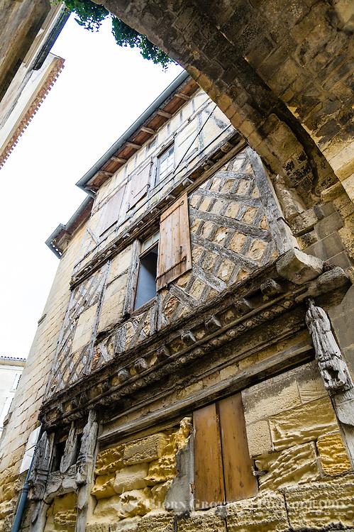 France, Saint-Émilion. Oldest building in the town.