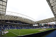 General view of Dragao stadium before the Portuguese League (Liga NOS) match between FC Porto and Maritimo at Estadio do Dragao, Porto, Portugal on 3 October 2020.