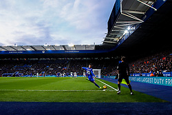 James Maddison of Leicester City takes a corner at the King Power Stadium - Mandatory by-line: Robbie Stephenson/JMP - 29/12/2018 - FOOTBALL - King Power Stadium - Leicester, England - Leicester City v Cardiff City - Premier League