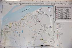 Map Of Shwezigon Pagoda