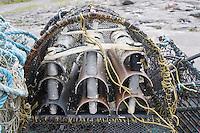 Lobster pots on the Aran Islands Galway Ireland