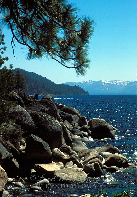 Lake Tahoe, Nevada ~ Deadman Point