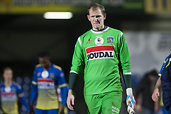 December 16, 2017 - Westerlo, BELGIUM - Westerlo's goalkeeper Kristof Van Hout pictured after a soccer game between KVC Westerlo and Cercle Brugge, in Westerlo, Saturday 16 December 2017, on day 20 of the division 1B Proximus League competition of the Belgian soccer championship. BELGA PHOTO KRISTOF VAN ACCOM (Credit Image: © Kristof Van Accom/Belga via ZUMA Press)