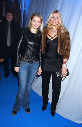 Left to right, CHRISTINA KNUDSEN and BEVERLEY BLOOM at a VIP party to celebrate the launch of the new Fiat Punto held at the Truman Brewery 91 Brick Lane, Loncon on 19th January 2006.<br /><br />NON EXCLUSIVE - WORLD RIGHTS