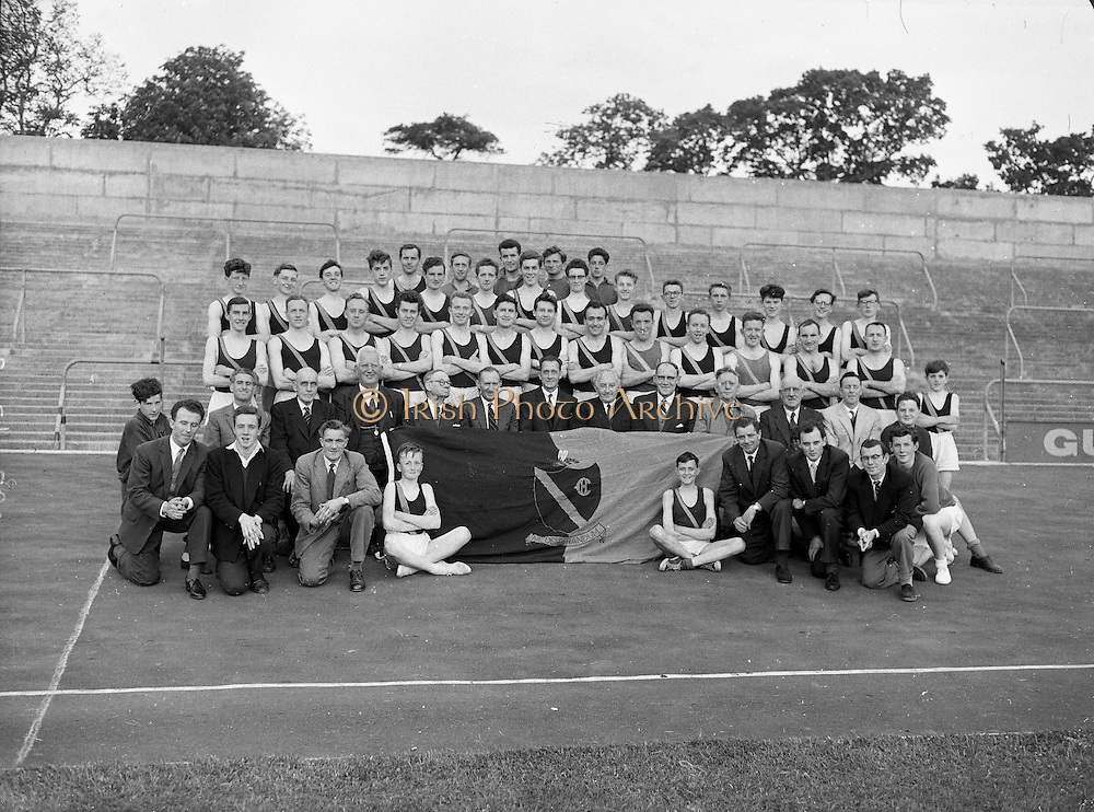 Clonliffe Harriers 75th Anniversary Group 11th may, 1961