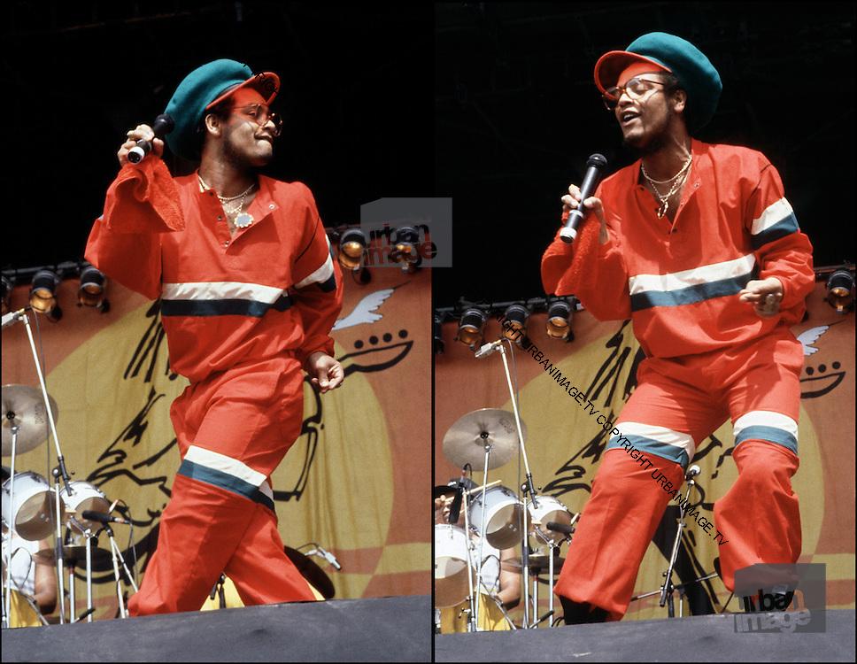 Maxi Priest live at Reggae Sunsplash