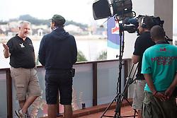 WMRT Jim O'Toole gives an interview during Monsoon Cup 2010. World Match Racing Tour, Kuala Terengganu, Malaysia. 3 December 2010. Photo: Subzero Images/WMRT