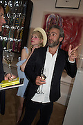 PETITE MELLER; STUART CLARKE, Royal Academy Summer exhibition party. Piccadilly. 7 June 2016