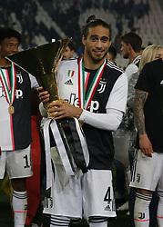 May 19, 2019 - Turin, ITA, Italy - Martin Caceres during Serie A match between Juventus v Atalanta, in Turin, on May 19, 2019  (Credit Image: © Loris Roselli/NurPhoto via ZUMA Press)