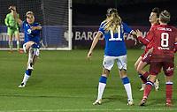 Everton Ladies vs Reading women FA WSL football match, Walton Hall Park Sadium, Liverpool. 14.11.20 photo by Terry Scott