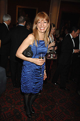 BARONESS SUSAN GREENFIELD at the Morgan Stanley Great Britons Awards at The Guildhall, City of London on 31st January 2008.  Conservative party leader David Cameron presenter a lifetime achievement award to former Prime Minister Baroness Thatcher.<br /> <br /> NON EXCLUSIVE - WORLD RIGHTS (EMBARGOED FOR PUBLICATION IN UK MAGAZINES UNTIL 2 WEEKS AFTER CREATE DATE AND TIME) www.donfeatures.com  +44 (0) 7092 235465