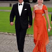 NLD/Apeldoorn/20070901 - Viering 40ste verjaardag Prins Willem Alexander, aankomst Prins Filip en Prinses Mathilde van Belgie