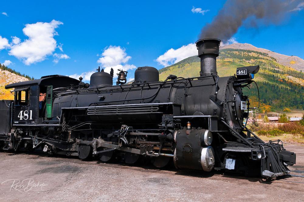 The Durango-Silverton Narrow Gauge Railroad, Silverton, Colorado