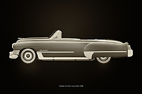 Cadillac is the most prestigious car brand in the United States. The Cadillac Deville, depicted here in cabiolet version, was very popular with people who wanted to radiate class and style. The Cadillac Deville is often seen in films where rich people always drive around in a Cadillac. –<br /> <br /> BUY THIS PRINT AT<br /> <br /> FINE ART AMERICA<br /> ENGLISH<br /> https://janke.pixels.com/featured/cadillac-deville-1948-black-and-white-jan-keteleer.html<br /> <br /> WADM / OH MY PRINTS<br /> DUTCH / FRENCH / GERMAN<br /> https://www.werkaandemuur.nl/nl/shopwerk/Cadillac-Deville-1948/742749/132?mediumId=11&size=75x50<br /> <br /> -