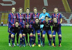 FC Barcelona  - Photo mandatory by-line: Joe Meredith/JMP - Mobile: 07966 386802 - 13/11/2014 - SPORT - Football - Bristol - Ashton Gate - Bristol Academy Womens FC v FC Barcelona - Women's Champions League