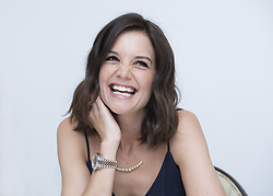 May 18, 2017 - Hollywood, California, U.S. - KATIE HOLMES promotes TV Mini Series The Kennedys After Camelot.' Kate Noelle 'Katie' Holmes (born December 18, 1978) is an American actress, model, and filmmaker who first achieved fame for her role as Joey Potter on The WB television teen drama Dawson's Creek from 1998 to 2003. She appeared in 1998's Disturbing Behavior, a thriller, which won her an MTV Movie Award for Best Breakthrough Performance. In 2000 Holmes featured in Wonder Boys which got positive attention from many leading critics. Holmes had a starring role in 2003's Pieces of April, a gritty comedy about a dysfunctional family on Thanksgiving. In the 2005 film Batman Begins, the highest-grossing film of her career to date. She also appeared in art house films such as The Ice Storm, horror films such as Don't Be Afraid of the Dark and thrillers including Abandon. She has also played on Broadway in a production of Arthur Miller's All My Sons and had numerous guest roles on television programs such as How I Met Your Mother. In 2011, she starred as Jacqueline Kennedy in the The Kennedys miniseries, a role she later reprised in the 2017 miniseries The Kennedys: After Camelot.  (Credit Image: © Armando Gallo via ZUMA Studio)