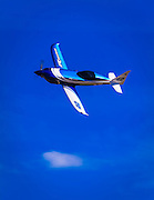 """NXT """"Relentless"""", flown by Kevin Eldredge of San Luis Obispo, California in the Sport class Gold Race, Sunday afternoon at Reno."""