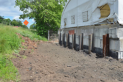 Construction Progress Photograph, Sea Street Salt Storage Facility, New Haven. Progress Documentation Submission 2.