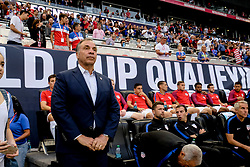 September 1, 2017 - Harrison, NJ, USA - Harrison, N.J. - Friday September 01, 2017:  Bruce Arena during a 2017 FIFA World Cup Qualifying (WCQ) round match between the men's national teams of the United States (USA) and Costa Rica (CRC) at Red Bull Arena. (Credit Image: © Howard Smith/ISIPhotos via ZUMA Wire)
