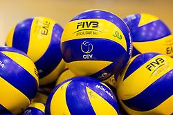 Balls during training camp of Slovenian Volleyball Men Team 1 month before FIVB Volleyball World League tournament in Ljubljana, on May 5, 2016 in Arena Vitranc, Kranjska Gora, Slovenia. Photo by Vid Ponikvar / Sportida
