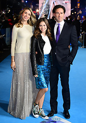 Peter Safran (right) and wife Natalia Safran attending the Aquaman premiere held at Cineworld in Leicester Square, London.