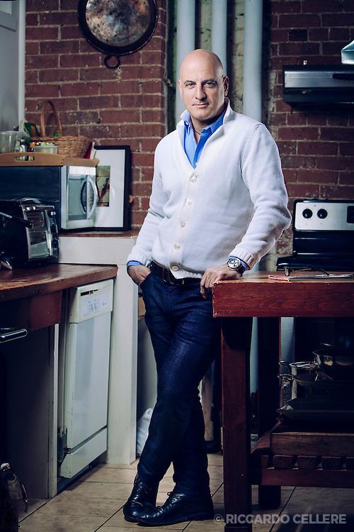 Portrait photography. Chef Stephen Leslie. 2012.