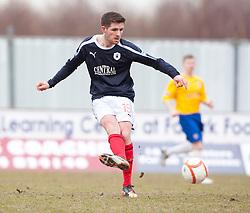 Falkirk's Iain Flannigan..Falkirk 4 v 0 Cowdenbeath, 6/4/2013..©Michael Schofield..