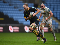 Rugby Union - 2020 / 2021 Gallagher Premiership - Wasps vs Exeter Chiefs - Ricoh Stradium<br /> <br /> Wasps' Joe Launchbury in action during this afternoon's game<br /> <br /> COLORSPORT/ASHLEY WESTERN