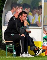 11/07/14 PRE-SEASON FRIENDLY<br /> DUKLA PRAGUE v CELTIC<br /> STEYR - AUSTRIA<br /> Celtic manager Ronny Deila