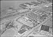 "Ackroyd 05964-3""Schntizer Steel products. aerial. April 7, 1955""  (Portland Terminal Railroad)"