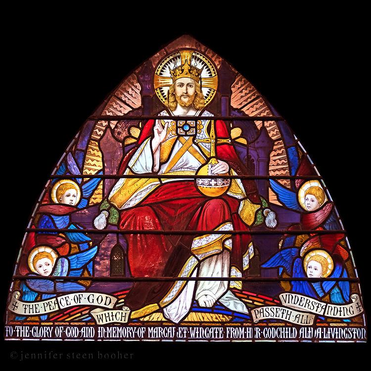 Window 11 on plan.<br /> <br /> St. Saviour's Episcopal Church, Bar Harbor, Maine.