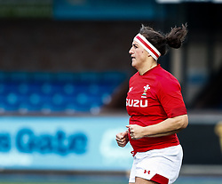 Siwan Lillicrap of Wales<br /> <br /> Photographer Simon King/Replay Images<br /> <br /> Six Nations Round 5 - Wales Women v Ireland Women- Sunday 17th March 2019 - Cardiff Arms Park - Cardiff<br /> <br /> World Copyright © Replay Images . All rights reserved. info@replayimages.co.uk - http://replayimages.co.uk