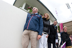 Rob Hoekstra, chef d'equipe England and the owners of Triple X III<br /> FEI Nations Cup La Baule 2012<br /> © Dirk Caremans