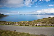 A calm day on Kenmare Bay from the Beara Peninsula, Ireland