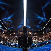The Umpire's Chair ahead of the women's singles championship match during the 2018 Australian Open on day 13 in Melbourne, Australia on Saturday afternoon January 27, 2018.<br /> (Ben Solomon/Tennis Australia)
