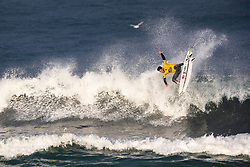 Italo Ferreira (BRA) surfing in Qualifying Round Heat 1 of the WSL Redbull Airborne event in Hossegor, France.