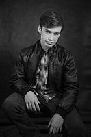 Cody H. headshot session.  ©2018 Karen Bobotas Photographer