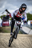 #7 (GRAF David) SUI during practice at Round 3 of the 2019 UCI BMX Supercross World Cup in Papendal, The Netherlands