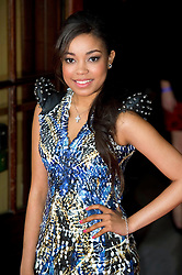 © Licensed to London News Pictures 09/02/2011 London, UK. .Dionne Bromfield arrives at the Waldorf Hotel, London for the seventh Tesco Mum of the Year Awards..Photo credit : Simon Jacobs/LNP