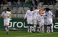 FOOTBALL - FRENCH CHAMPIONSHIP 2010/2011 - L1 - AJ AUXERRE v STADE RENNAIS - 14/11/2010 - PHOTO GUY JEFFROY / DPPI - JOY AUXERRE