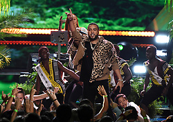 LOS ANGELES - AUGUST 13: French Montana performs onstage at FOX's 'Teen Choice 2017' at the Galen Center on August 13, 2017 in Los Angeles, California. (Photo by Frank Micelotta/FOX/PictureGroup) *** Please Use Credit from Credit Field ***