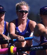 "Sydney; AUSTRALIA; GBR W8+.  Alex BEEVER;  2000 Olympic Regatta; ""West Lakes Penrith. NSW.  [Mandatory Credit. Peter Spurrier/Intersport Images]"" Sydney International Regatta Centre (SIRC) 2000 Olympic Rowing Regatta00085138.tif"