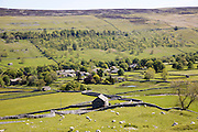 Litton village, Littondale, Yorkshire Dales national park, England, UK