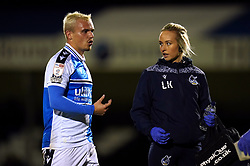 Bristol Rovers Sports Therapist Leighanne Kelly during the Papa John's Trophy Southern Section Group M match at the Memorial Stadium, Bristol. Picture date: Wednesday October 13, 2021.