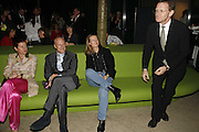 LORD AND LADY FOSTER, SHEENA WAGSTAFF AND NICHOLAS SEROTA, Launch of Tat Modern's rehang of its permanent Collection in partnership with UBS. Tate Modertn. 23 May 2006. ONE TIME USE ONLY - DO NOT ARCHIVE  © Copyright Photograph by Dafydd Jones 66 Stockwell Park Rd. London SW9 0DA Tel 020 7733 0108 www.dafjones.com
