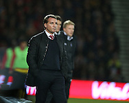 Brendan Rogers during the Capital One Cup match between Bournemouth and Liverpool at the Goldsands Stadium, Bournemouth, England on 17 December 2014.